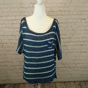 Abercrombie knit top, t-shirt, tees, sweater